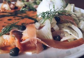Burrata & fennel salmojero