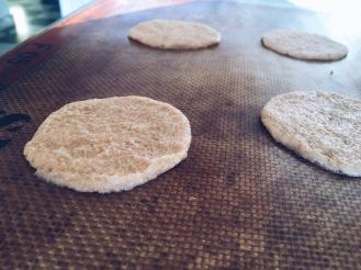 Amaretti sugar cookies