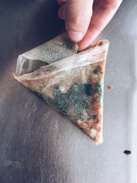Lahmacun-style brick triangles